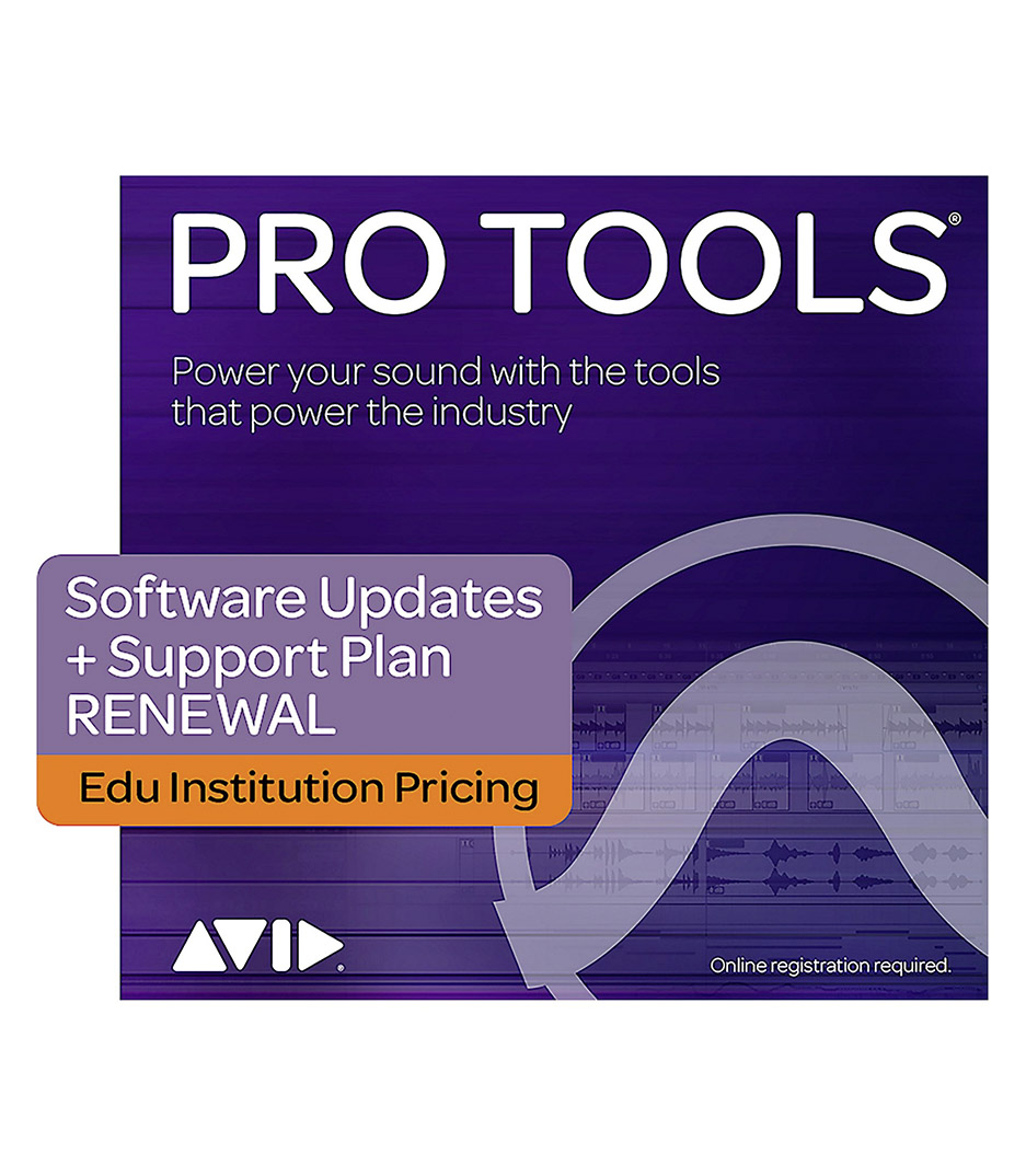 Avid ProTools - 9938 30003 80 PT 1Y Subscription RENEWAL EDU INST - Melody House Musical Instruments