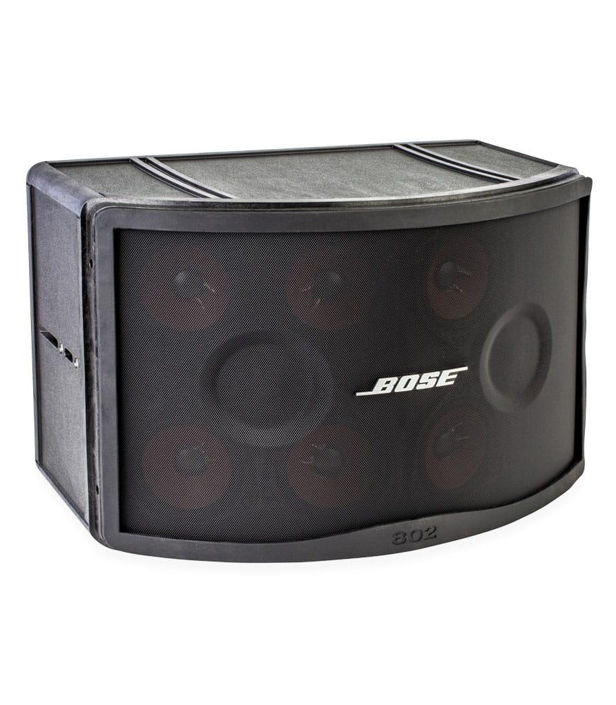 Panaray 802 Series IV Black Speaker