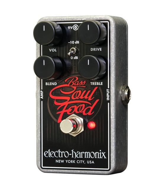 Buy electro harmonix Bass Soul Food Overdrive Pedal Melody House