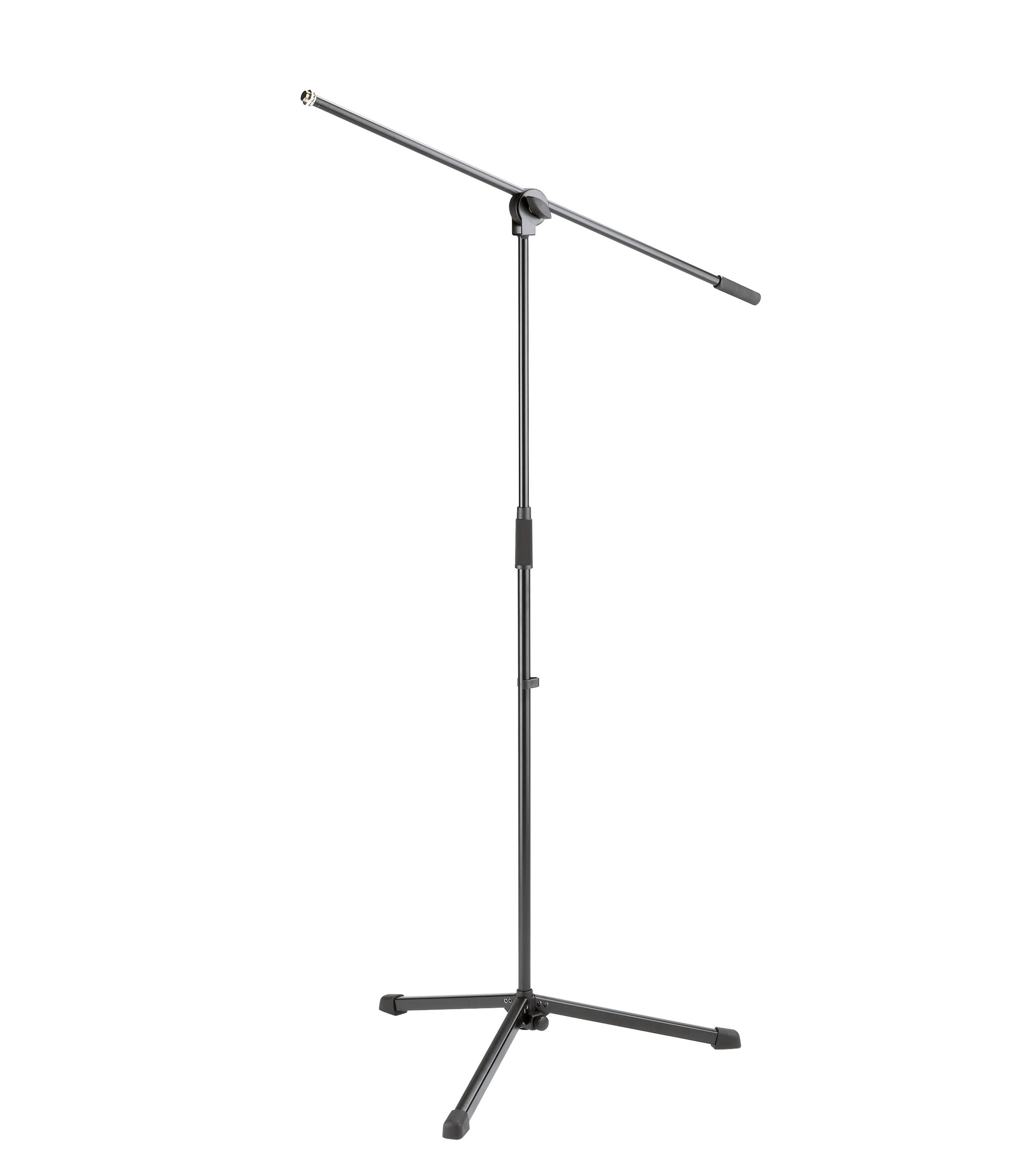 buy k&m low priced microphone stand w boom