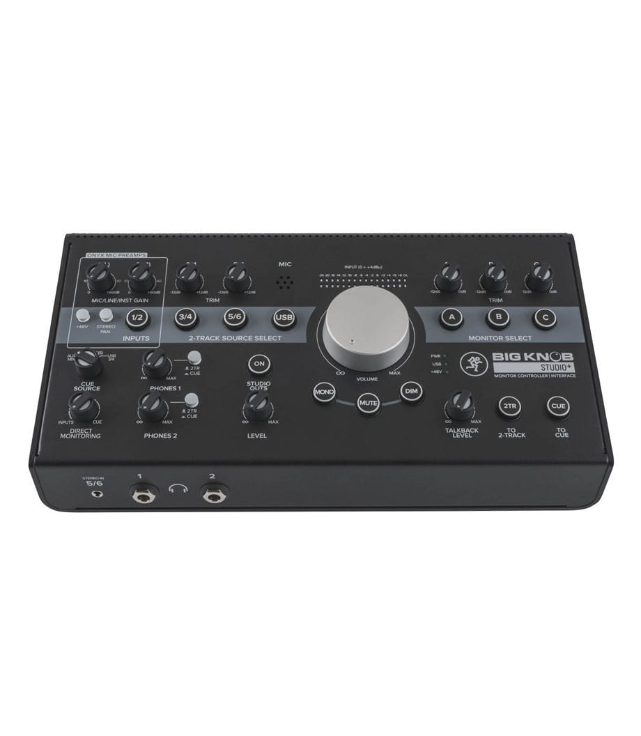 Buy mackie Big Knob Studio 4x3 Studio Monitor Controller Melody House