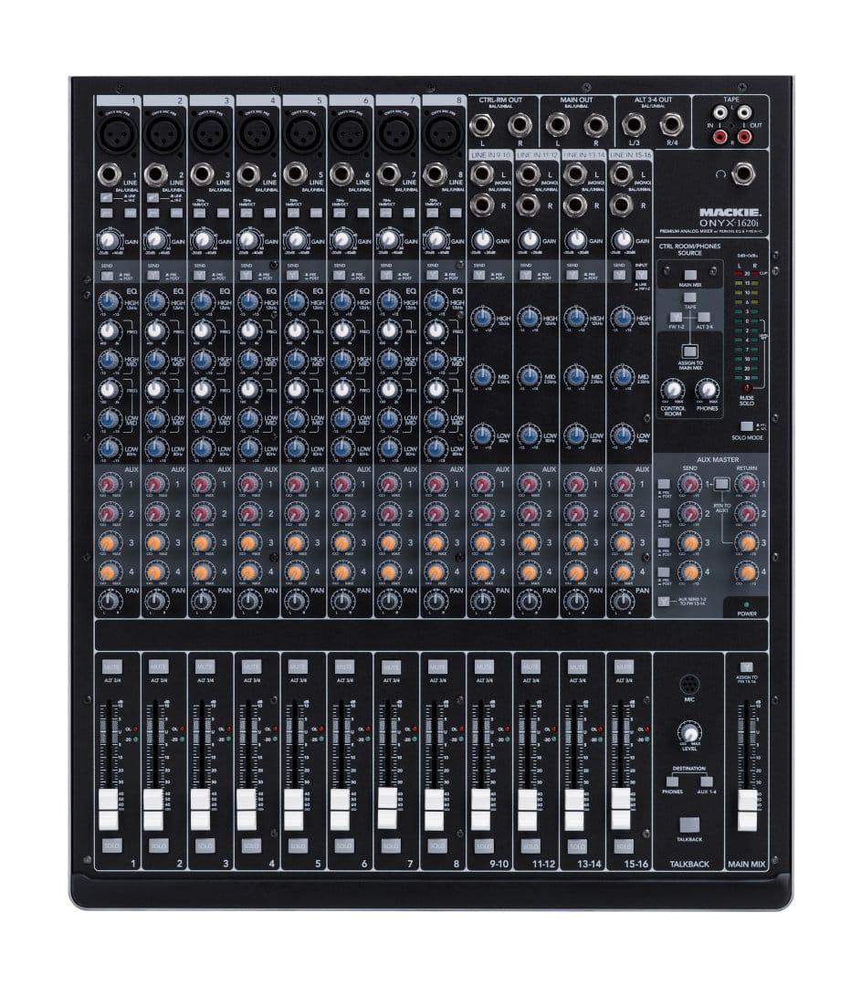 Onyx 1620i 16 channel Premium Firewire Recording