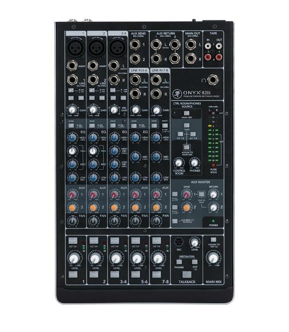 buy mackie onyx 820i 8 channel premium firewire recording