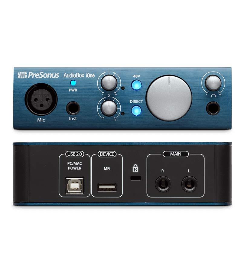 Presonus - AudioBox iOne 2x2 USB2 0 iPad Recording Interface