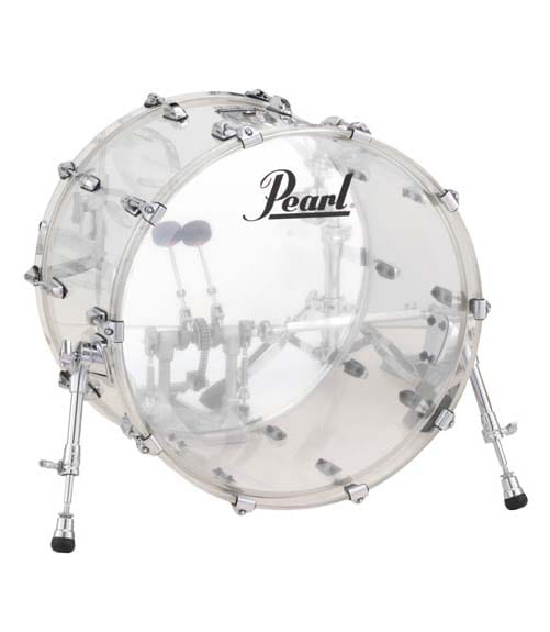 Buy pearl CRB2216BX C 730 22 x16 Crystal Beat Bass Drum Melody House
