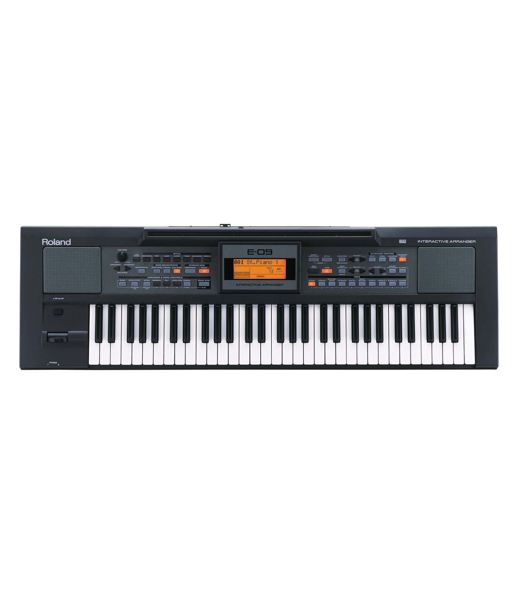 buy roland e 09 interactive arranger keyboard