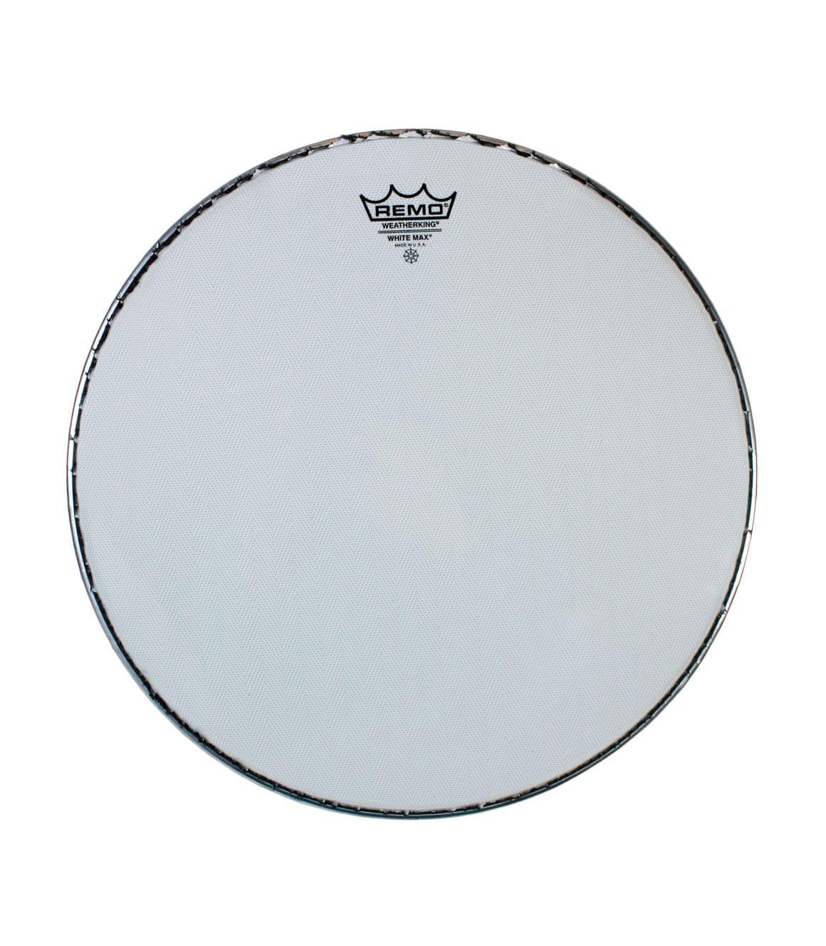 buy remo batter crimped white max 14 diameter