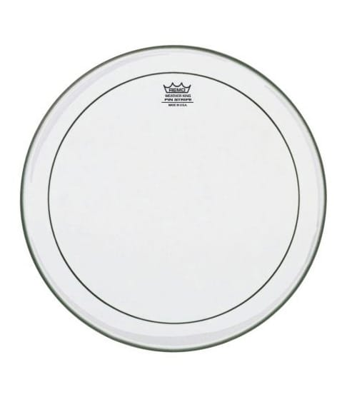 Buy remo Batter PINSTRIPE Clear 14 Diameter Melody House