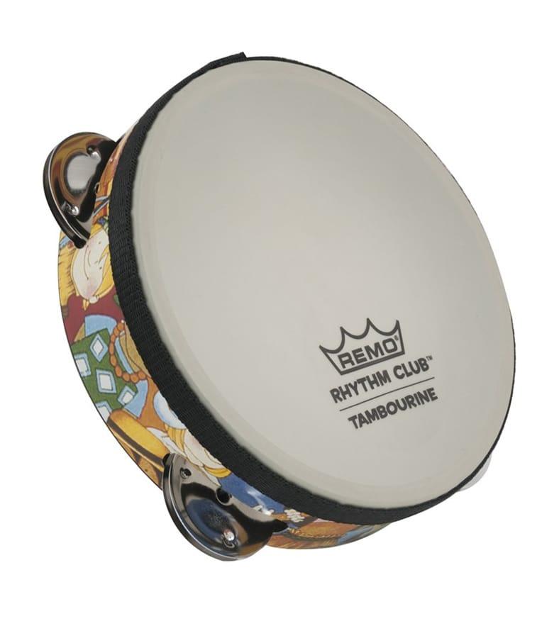 buy remo rhythm club tambourine 1 75 x 6 4 sets jingl