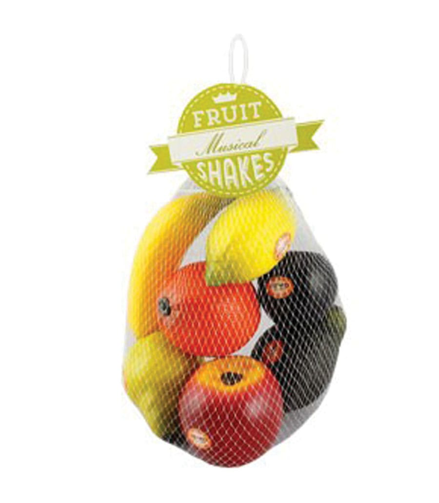 Buy Remo Shaker Hand Fruit Style 7 Piece Bag Assorted Melody House