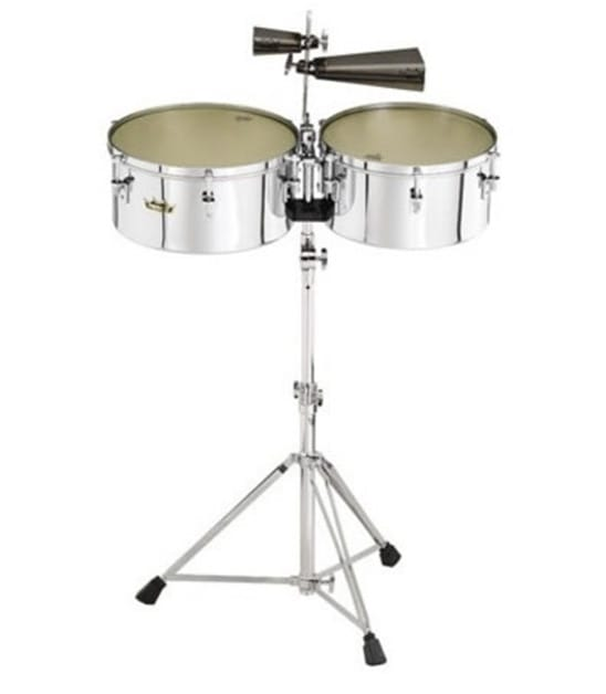 Buy Remo Timbales Valencia 13 14 Diameters With Stand Melody House