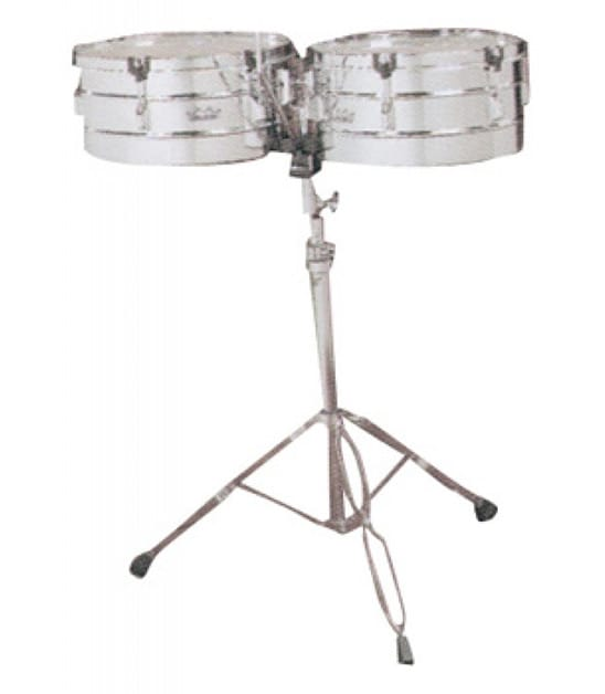 Buy Remo Timbales Valencia 14 15 Diameters With Stand Melody House