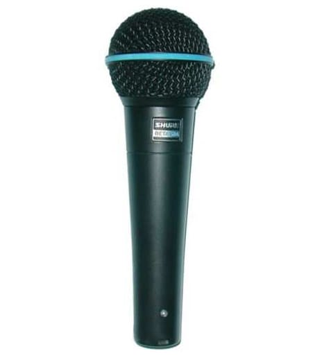 Buy Shure BETA58AB Supercardioid Dynamic Vocal Mic Black Melody House