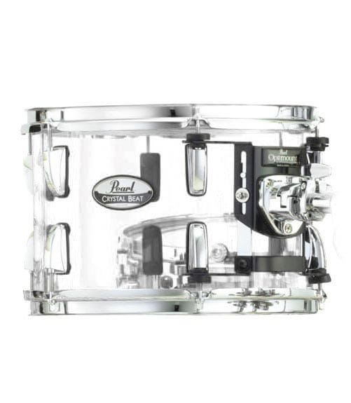 Buy Pearl CRB1208T 730 12 x 8 Crystal Beat Tom w OptiMoun Melody House