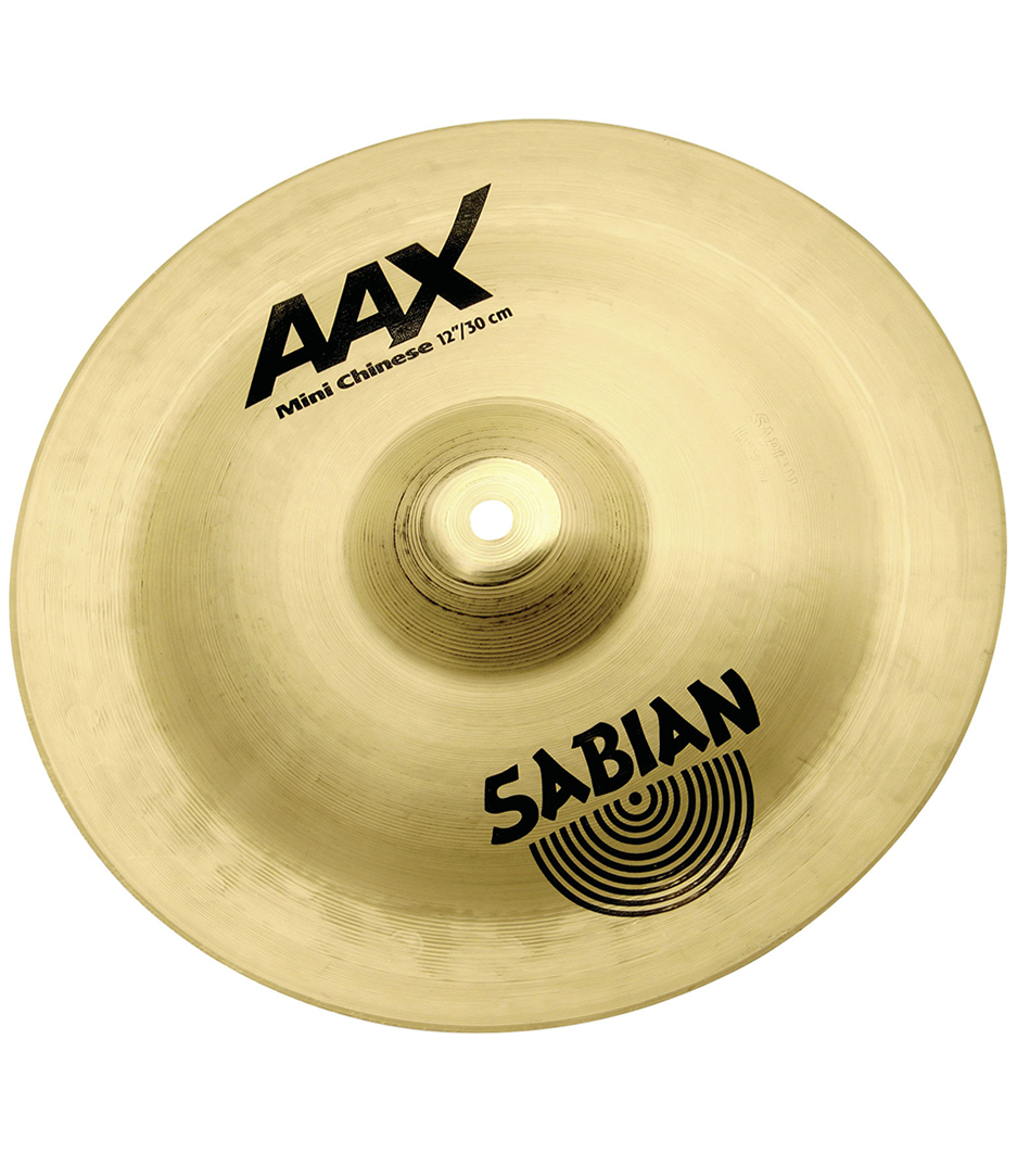 Buy Sabian - 12 AAX Mini Chinese Brilliant Finish