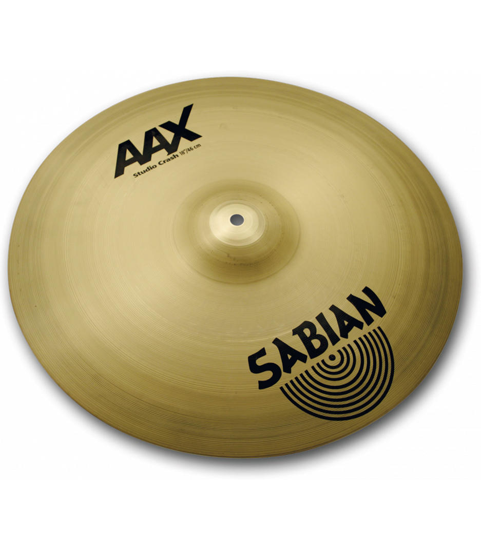 buy sabian 18 aax studio crash brilliant finish