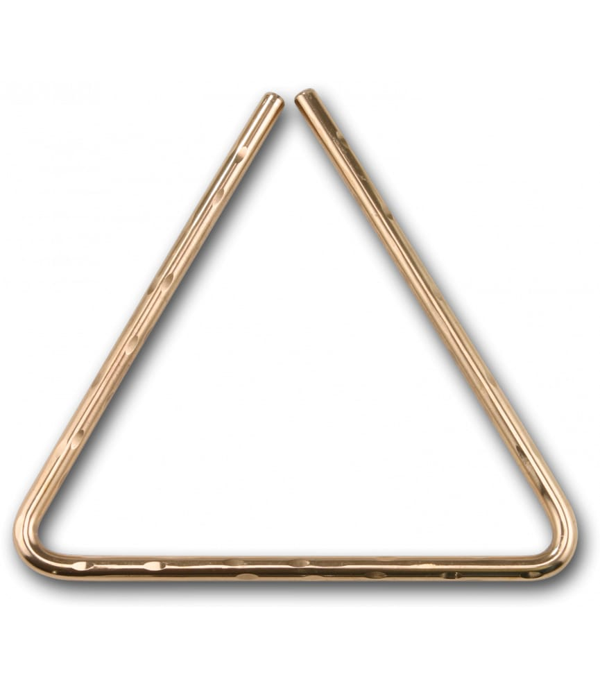 Buy Sabian 6 Hammered B8 Bronze Triangles Melody House