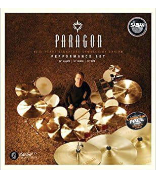 buy sabian paragon neil peart performance set