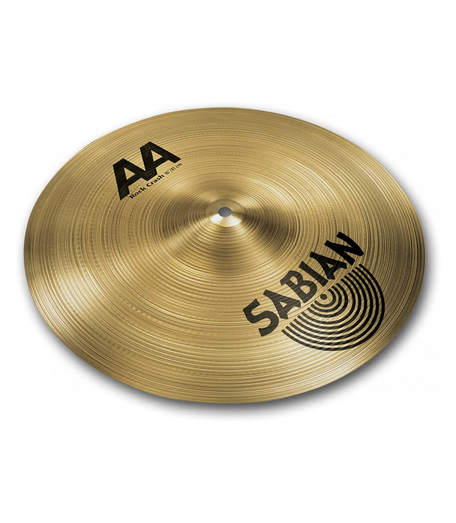 buy sabian 16 aa rock crash brilliant finish