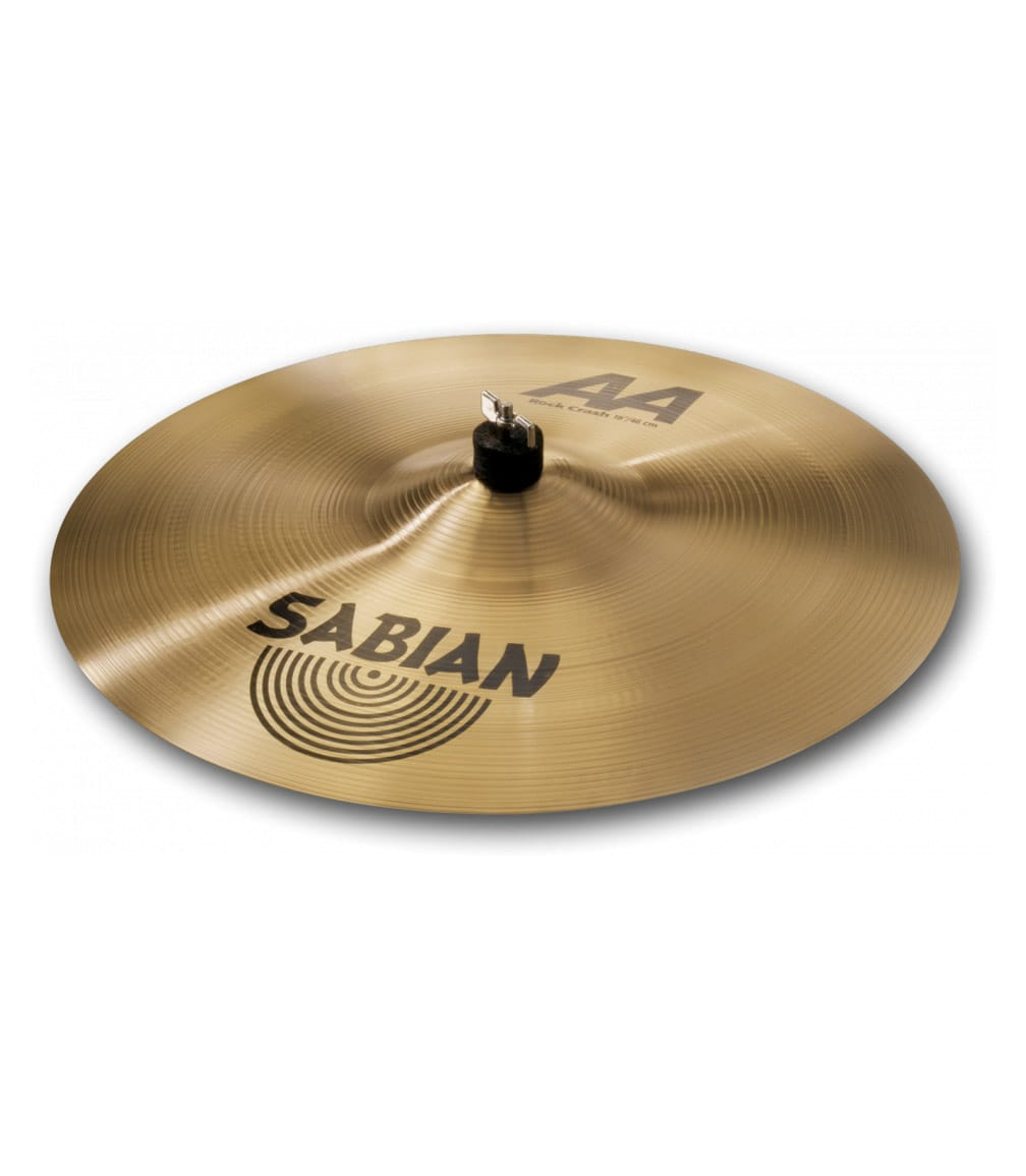 buy sabian 18 aa rock crash brilliant finish