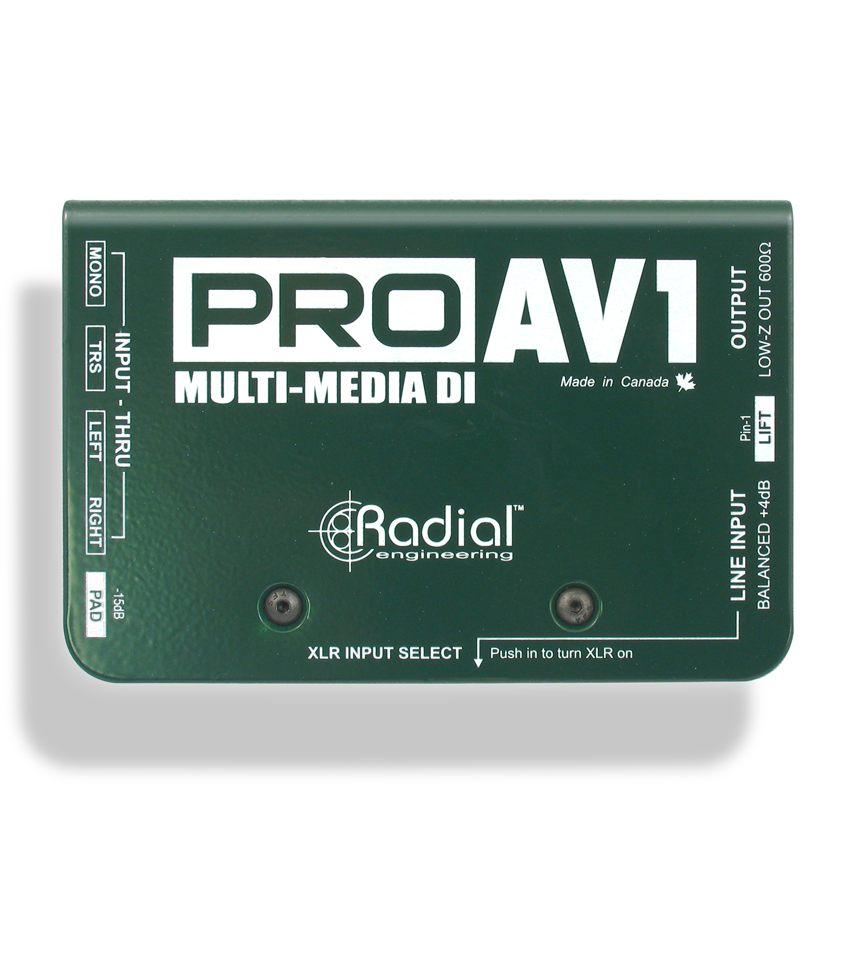 radial - ProAV1 - Melody House Musical Instruments