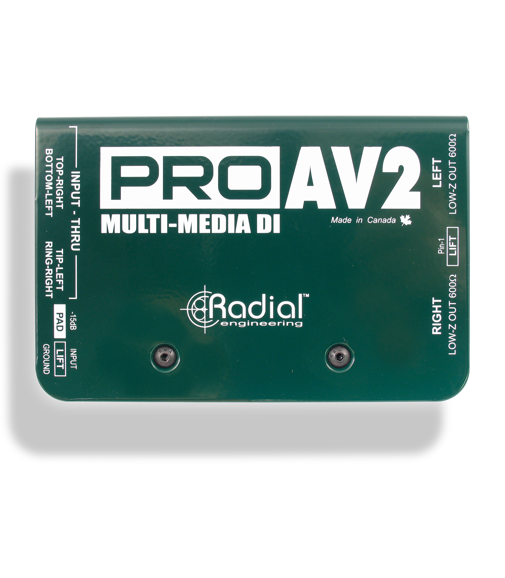 Buy radial ProAV2 Melody House