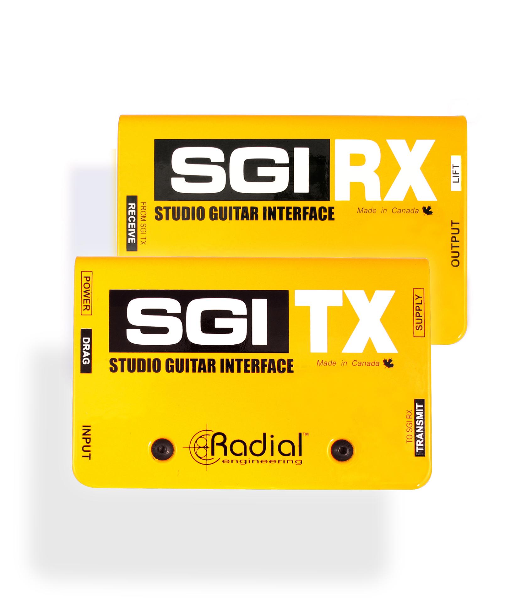Radial - SGI TX RX