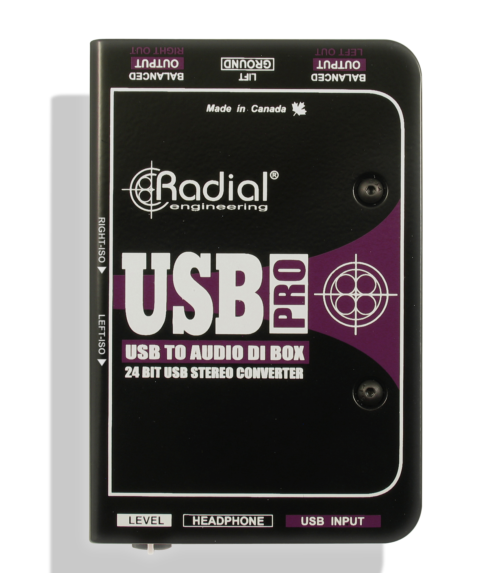 radial - USB Pro - Melody House Musical Instruments