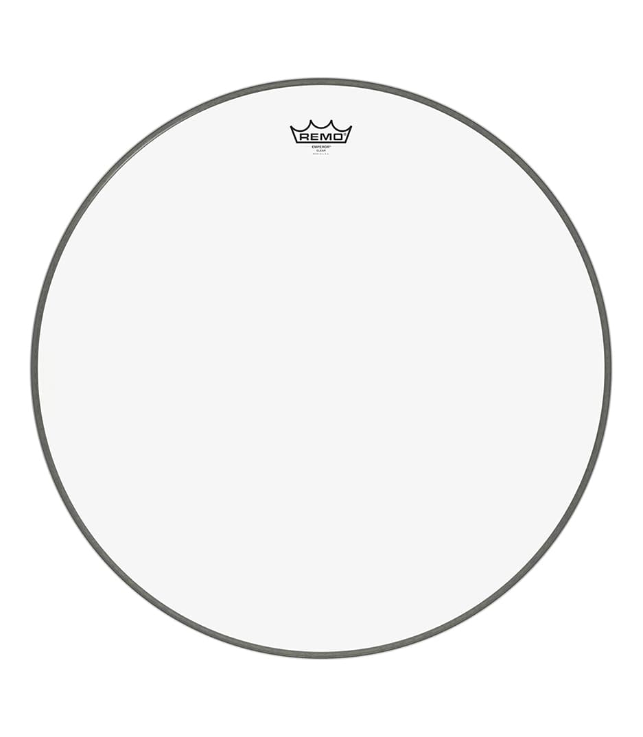 buy remo bass emperor clear 24 diameter