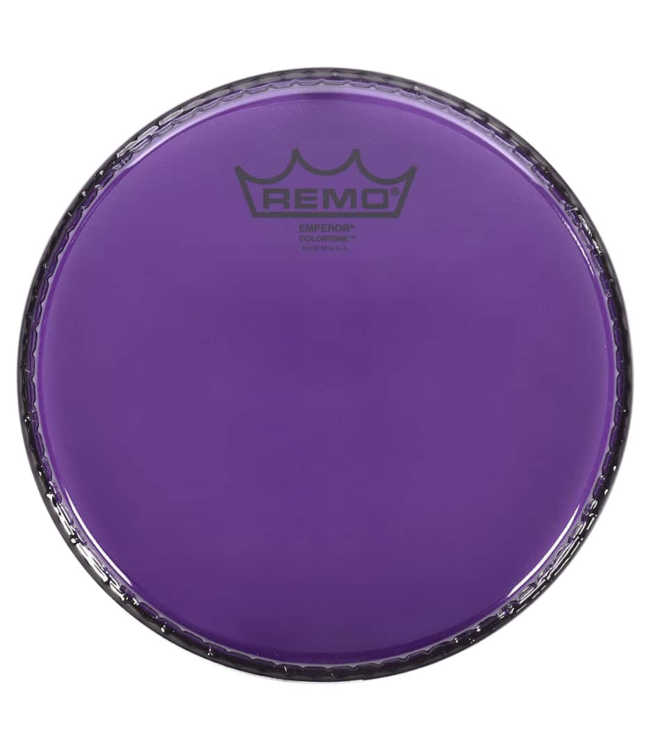 Remo - BE 0310 CT PU Emperor Colortone Purple Drumhead - Melody House Musical Instruments