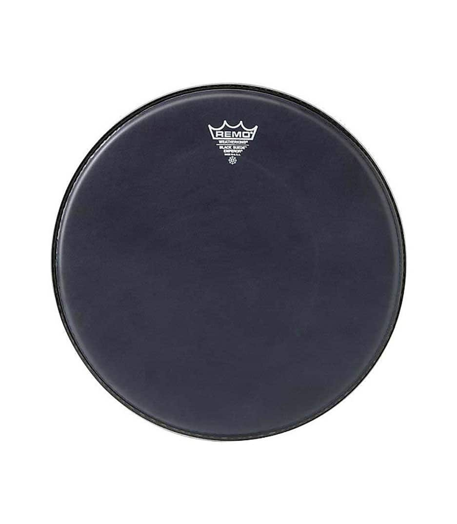 Buy remo Emperor Black Suede10 Diameter Melody House