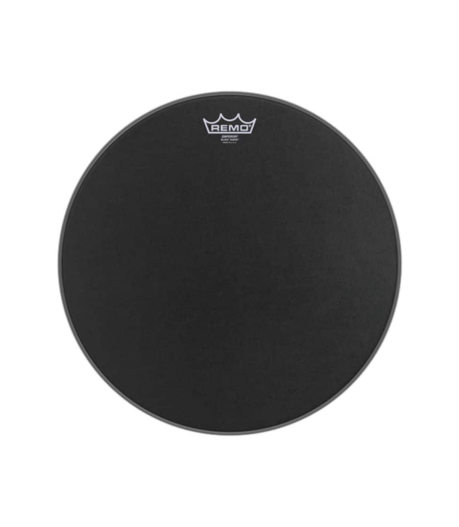 Buy remo Emperor Black Suede 16 Diameter Melody House