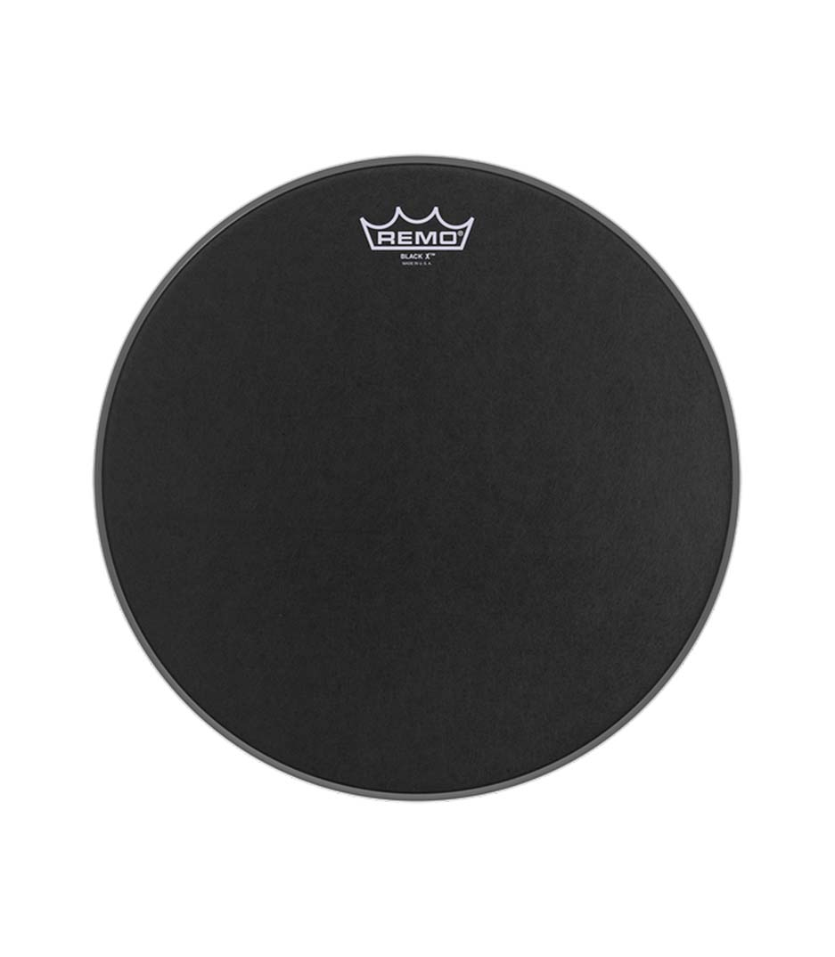 Remo - Batter BLACK X 14 Diameter BLACK DOT Bottom - Melody House Musical Instruments