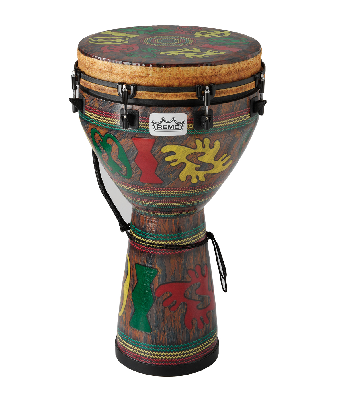 buy remo djembe mondo designer series key tuned 14 x 24