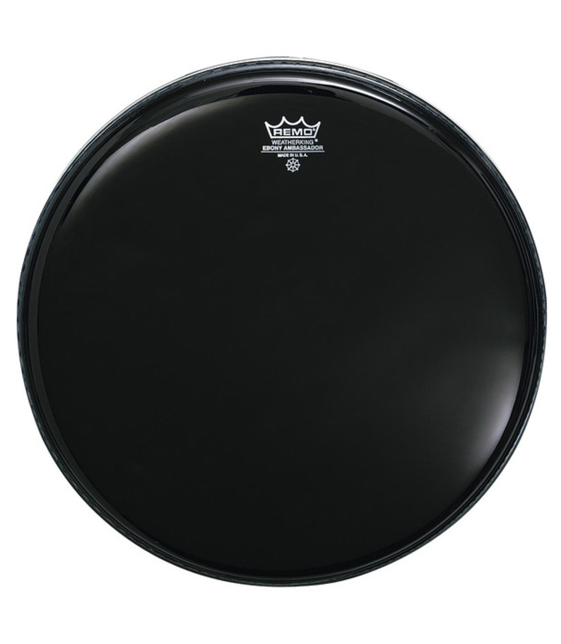 Buy remo Batter AMBASSADOR EBONY 8 Diameter Melody House