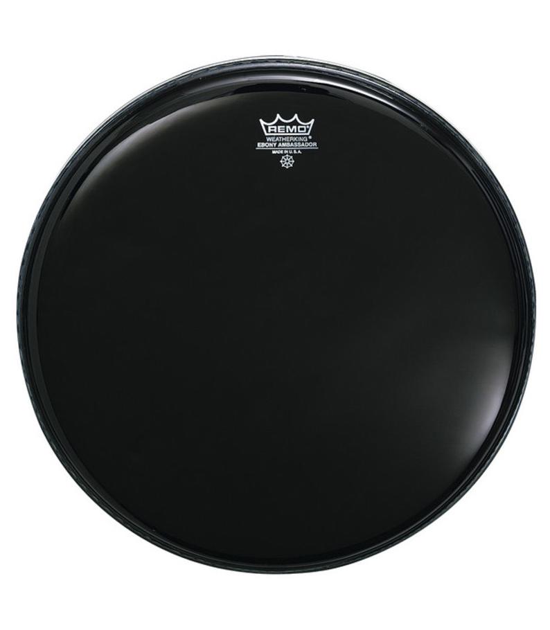 buy remo batter ambassador ebony 8 diameter