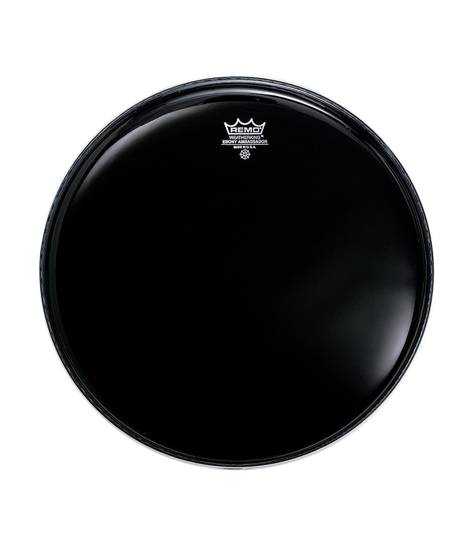 Buy Remo - Batter AMBASSADOR EBONY 12 Diameter