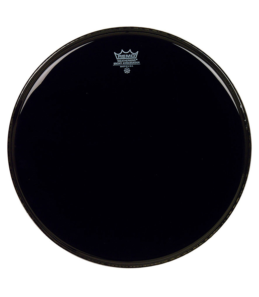 buy remo batter ambassador ebony 13 diameter
