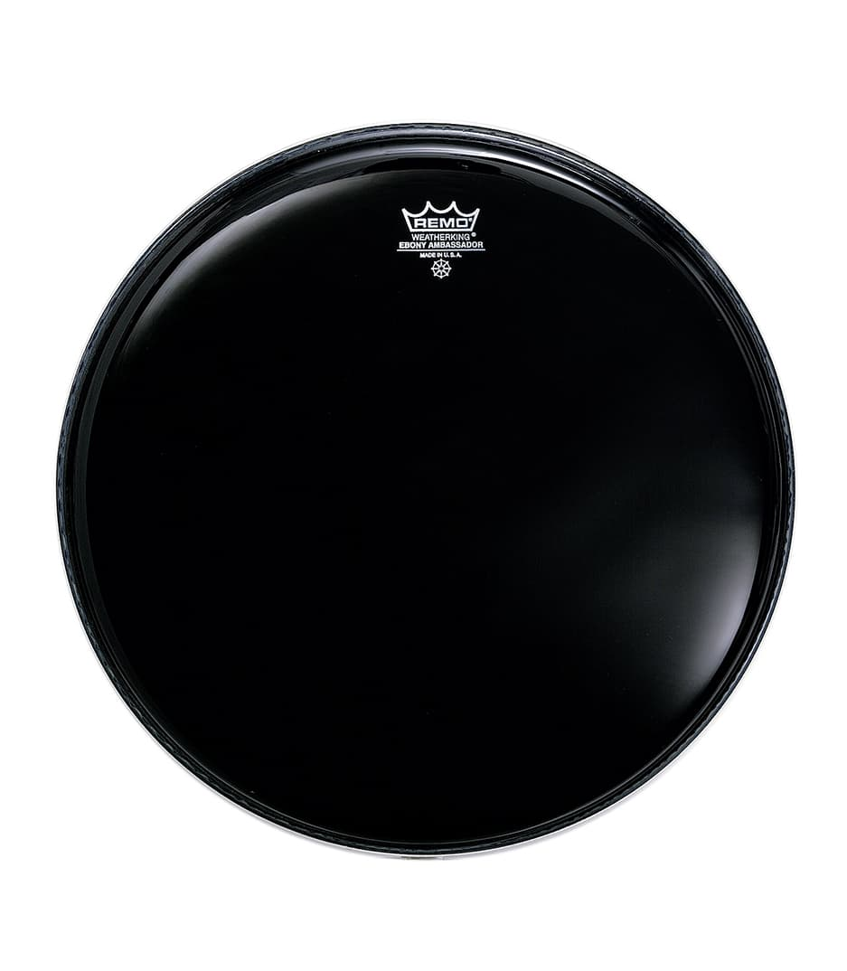 Buy remo - Batter AMBASSADOR EBONY 14 Diameter