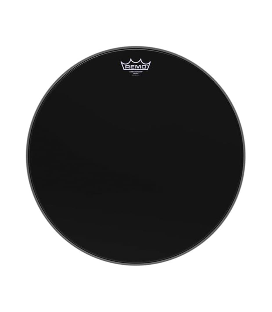 Buy remo Batter AMBASSADOR EBONY 18 Diameter Melody House