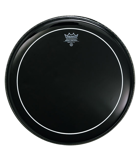Buy remo Batter PINSTRIPE EBONY 8 Diameter Melody House