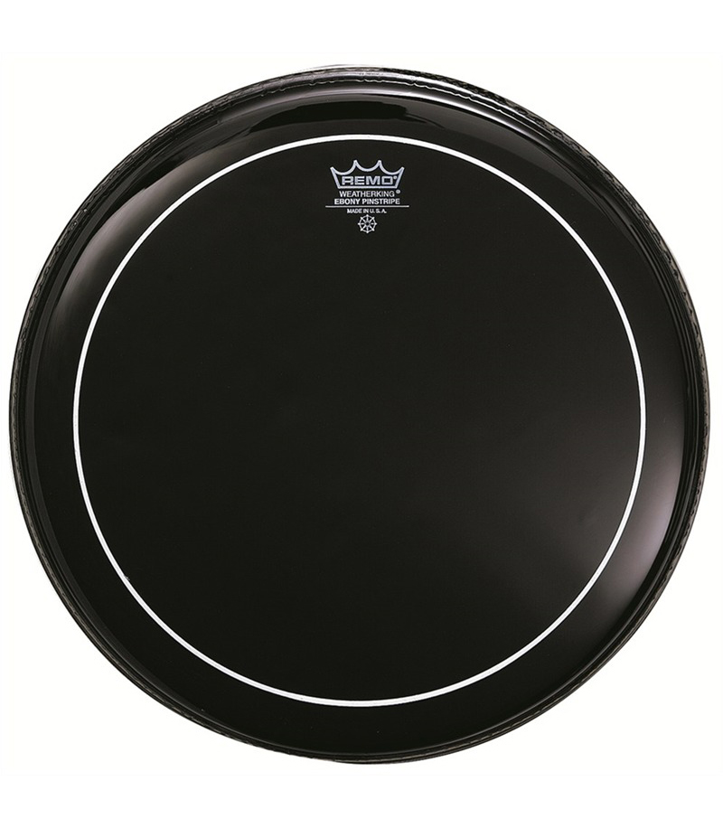 Remo - Batter PINSTRIPE EBONY 16 Diameter - Melody House Musical Instruments