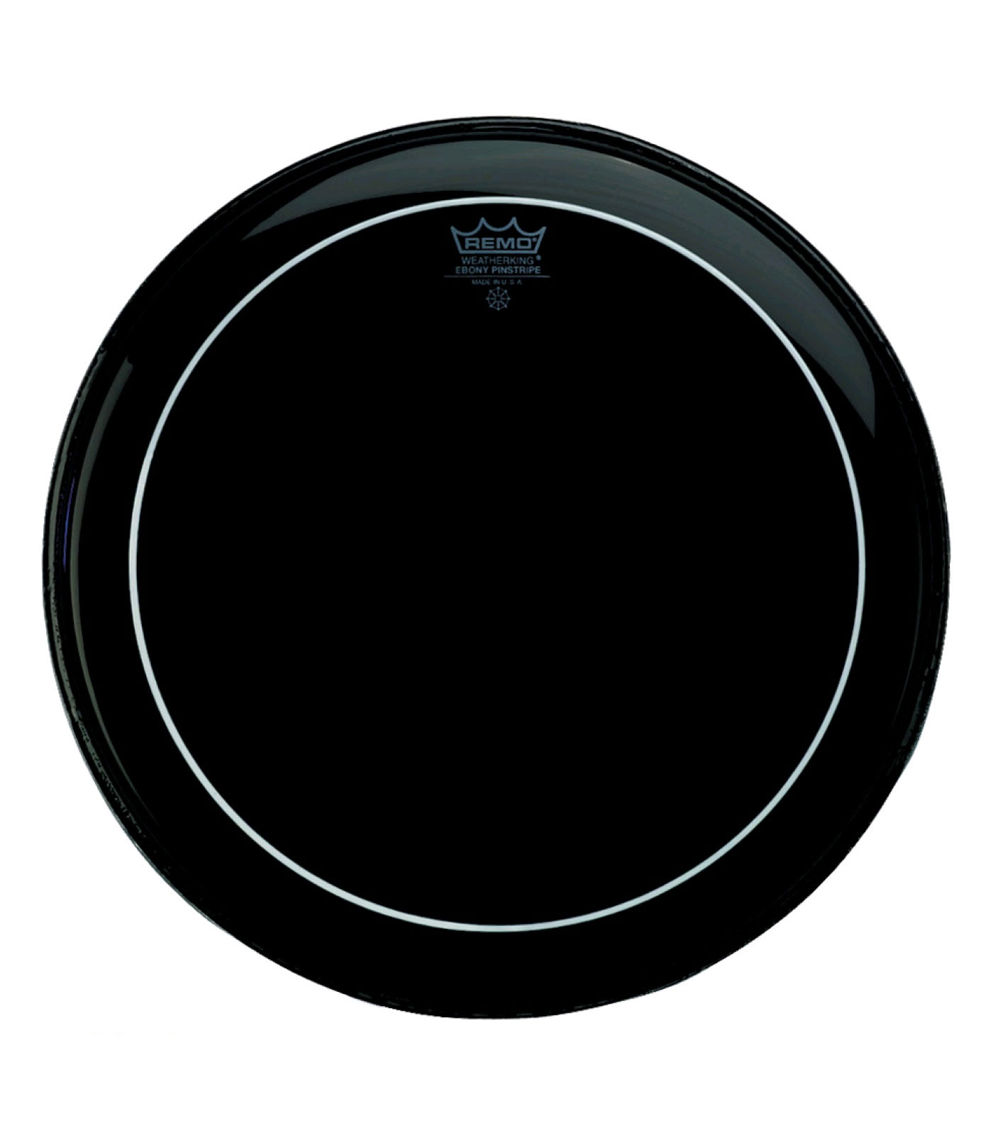 Buy remo Bass PINSTRIPE EBONY 22 Diameter Melody House