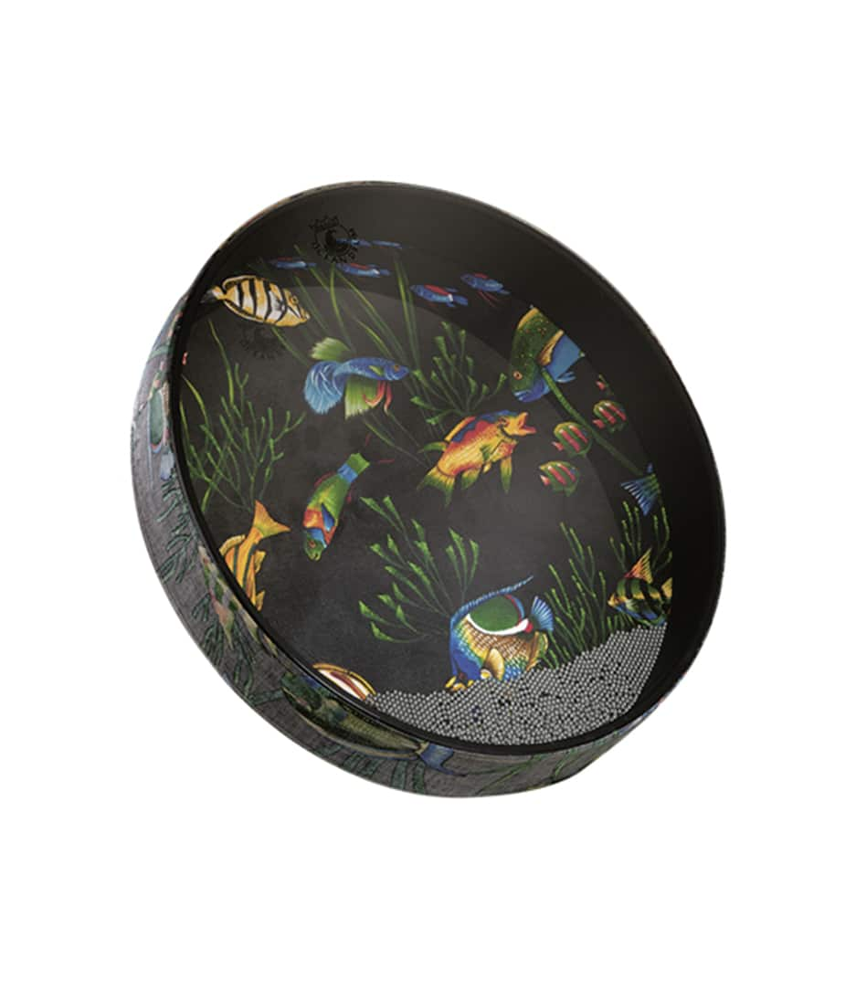 Buy remo Ocean Drum Depth Fish Graphic Melody House