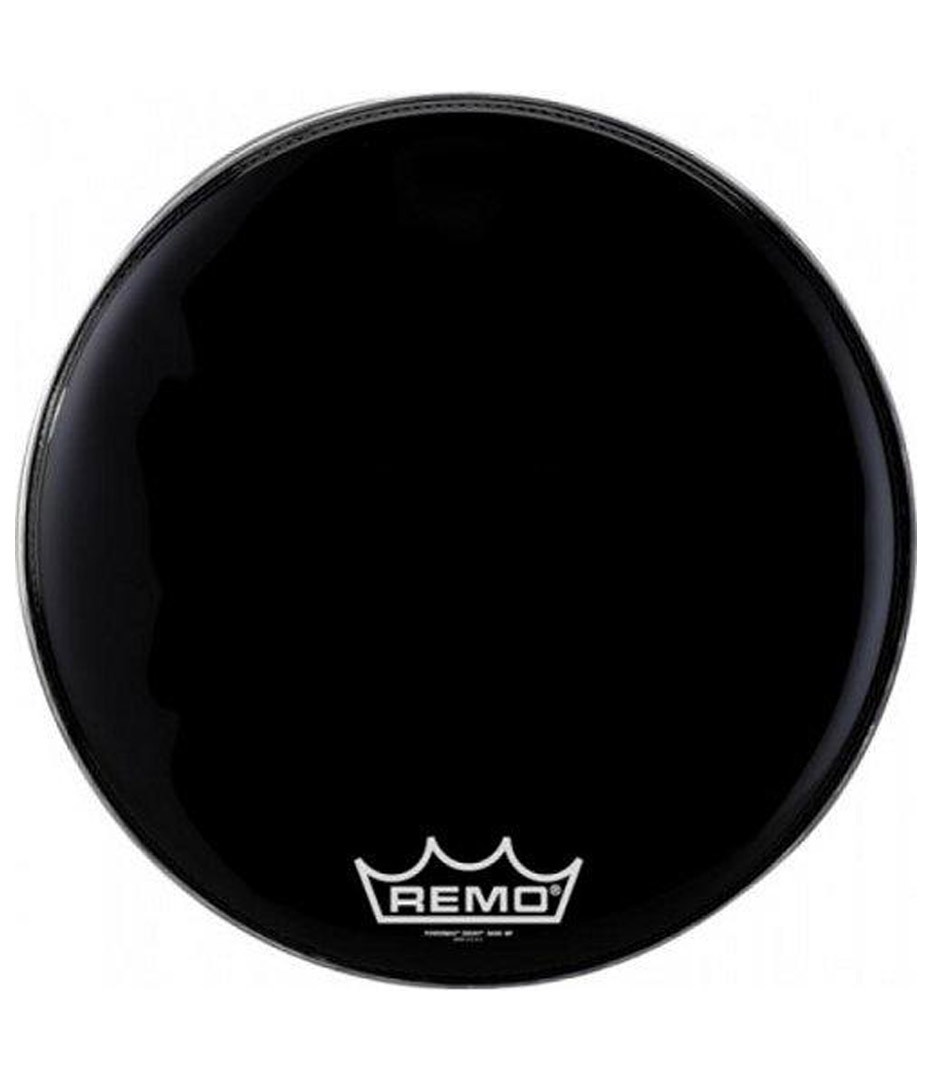Buy remo Bass EMPEROR BLACK SUEDE 18 Diameter MP Melody House
