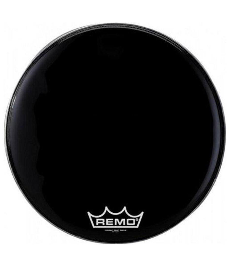 buy remo bass emperor black suede 18 diameter mp