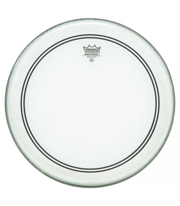 Buy remo Batter POWERSTROKE 3 Clear 18 Diameter Melody House