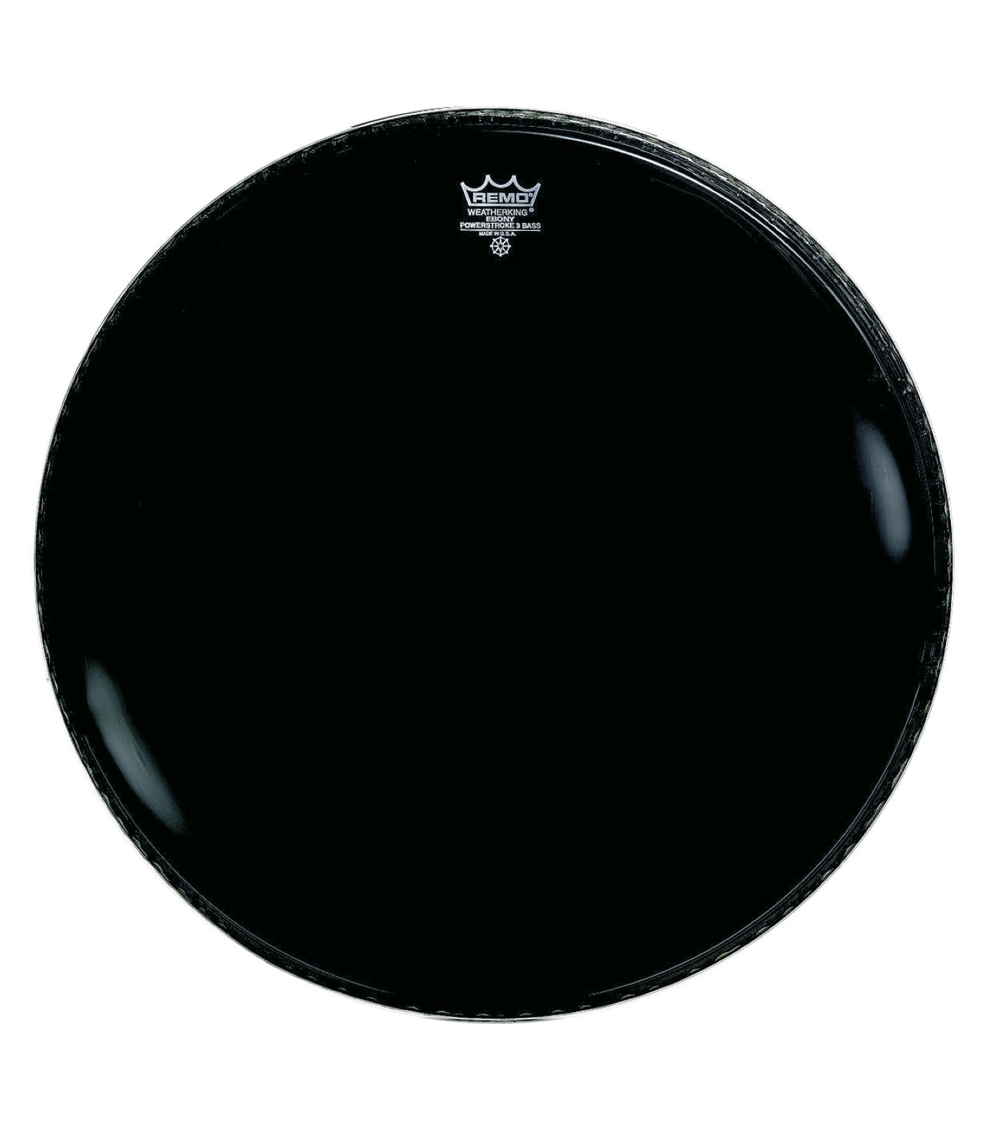Buy remo - Bass POWERSTROKE 3 EBONY 24 Diameter 5 Bla