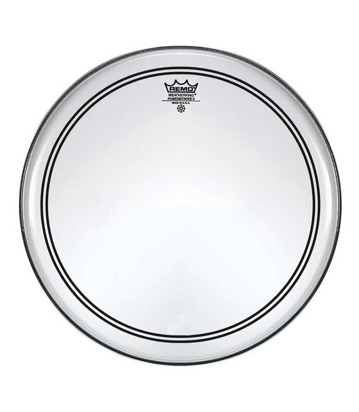 buy remo bass powerstroke 3 clear 18 diameter