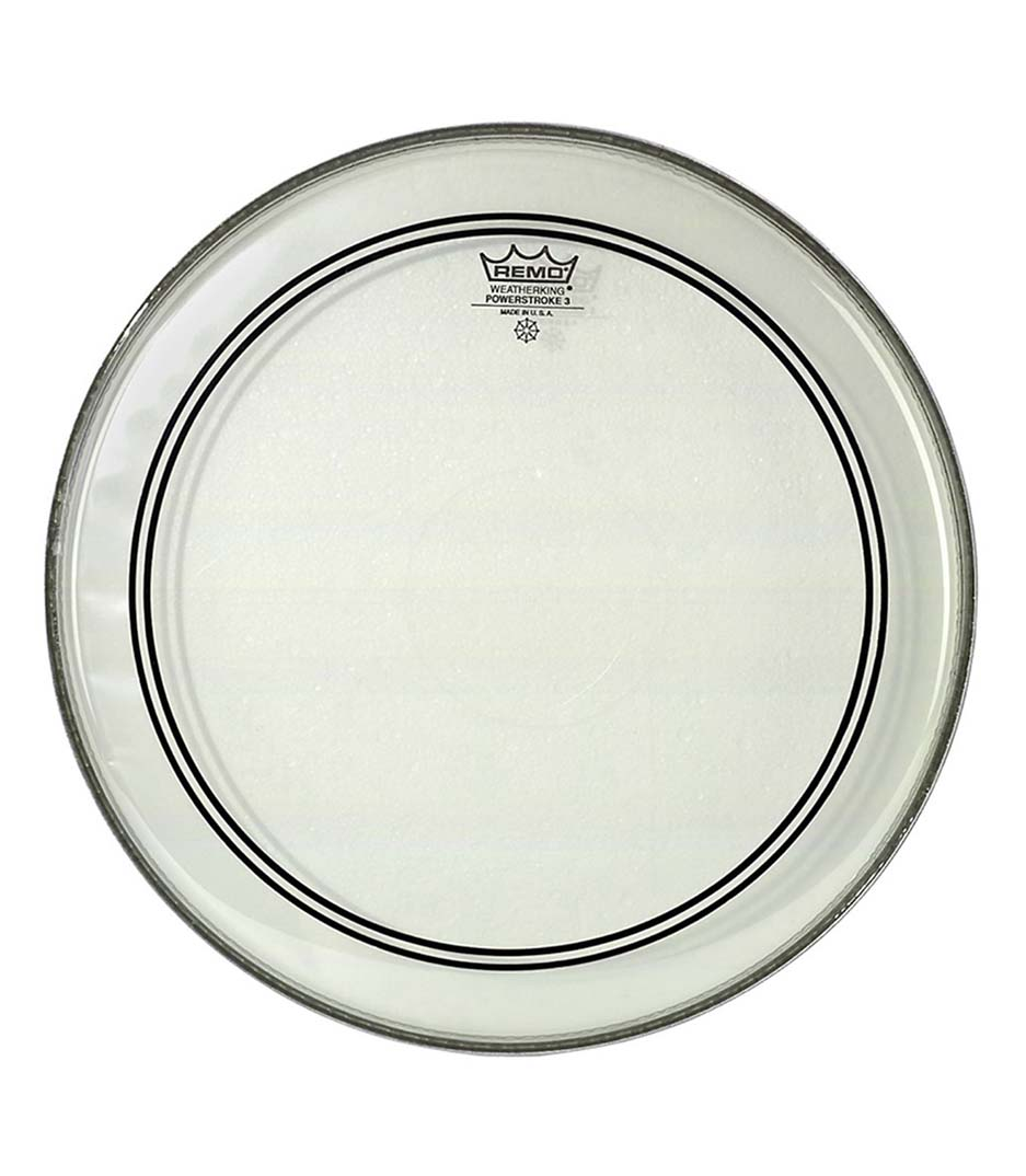 Remo - Bass POWERSTROKE 3 Clear 22 Diameter 2 1 2
